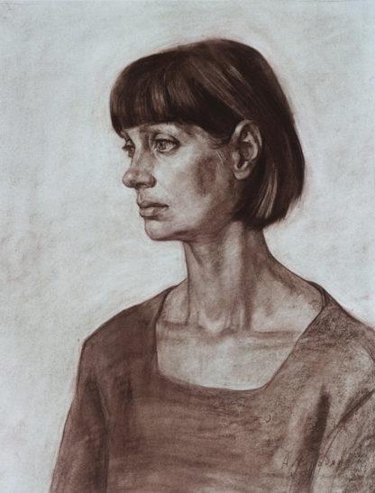 Портрет актрисы 65х50см