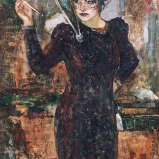 Портрет актрисы Екатерины Ганиной – 95х67см
