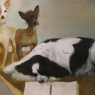 Ученые собаки – 73х90см