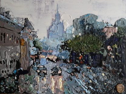 Картина «Москва после дождя» — 60х80 см. Холст, масло.