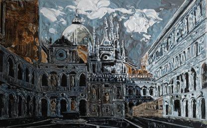 Картина «Палаццо Дукале (Дворец дожей)» — 57х91 см. Холст, масло.
