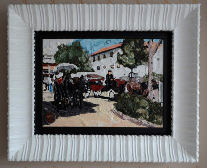 Картина Старая Европа - 41х56см (с рамой - 70х85см)