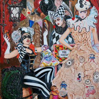 Картина «Циркус» — 120 х 83 см. Холст, масло.